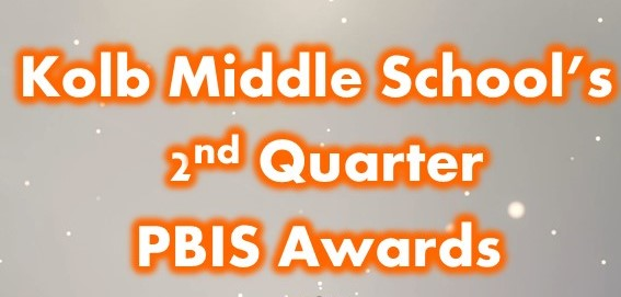 PBIS Quarter 2 Awards