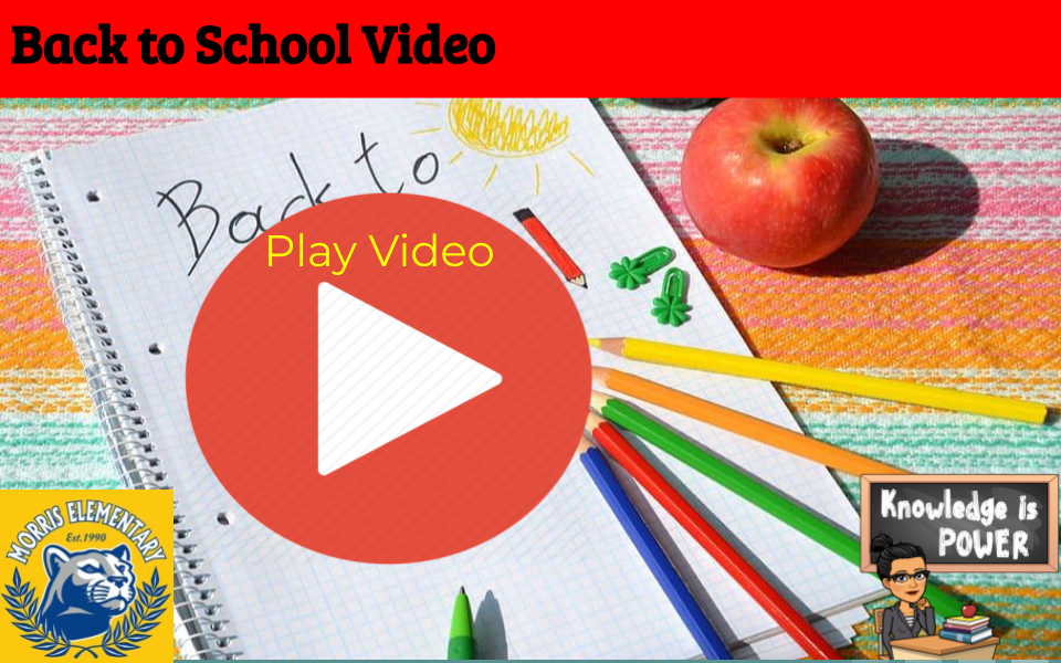 Back to School Video