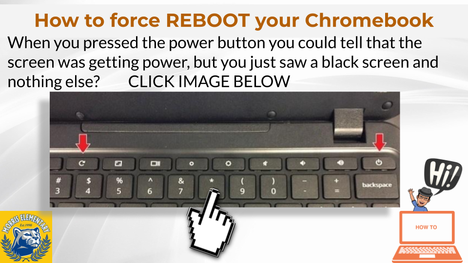 Force Rebooting a Chromebook