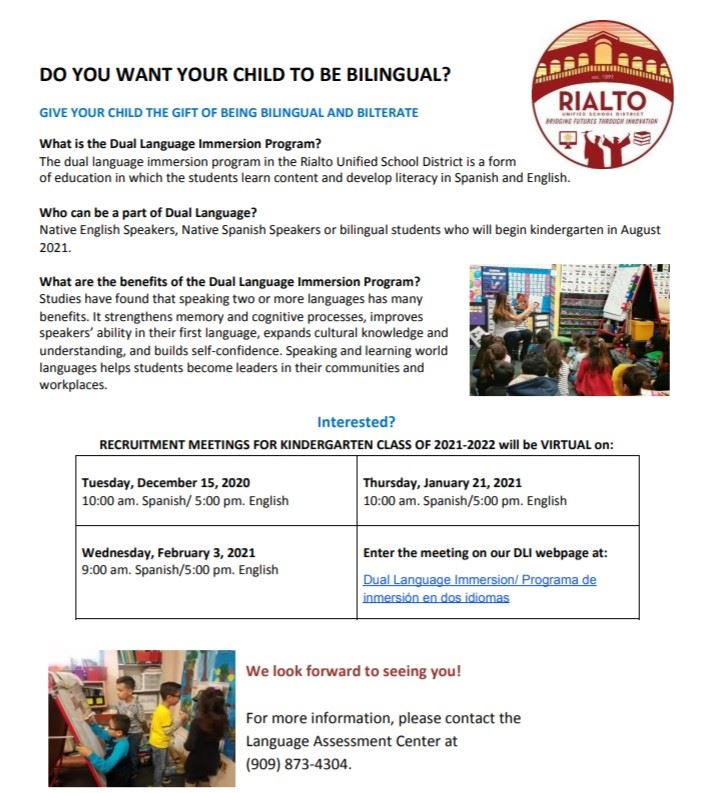 Dual Immersion Program
