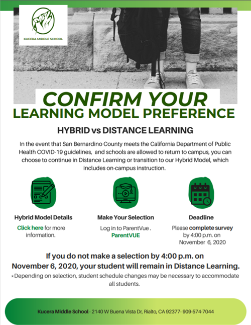 Confirm Learning Model Preference