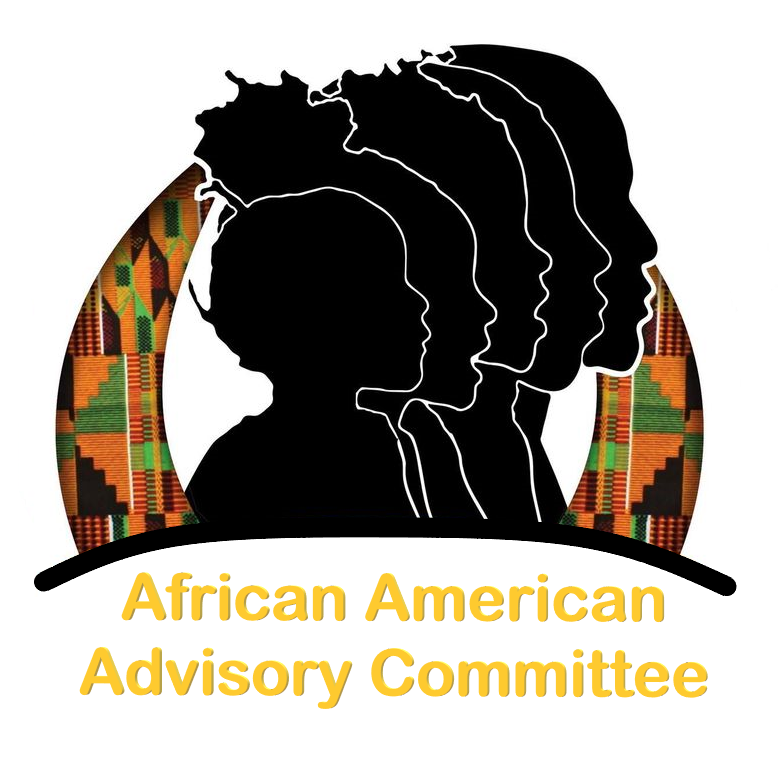 African American Advisory Committee Button